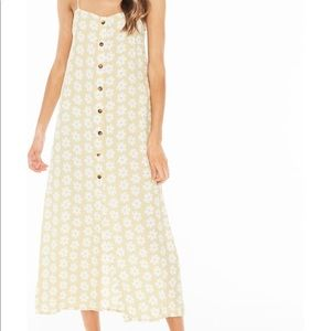 Faithfull the Brand Dresses - Faithfull the Brand arrieta midi dress -yellow